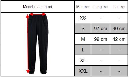 Ghid marimi pantalon original