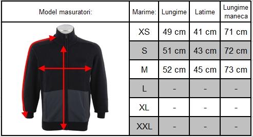 Ghid marimi bluza originala